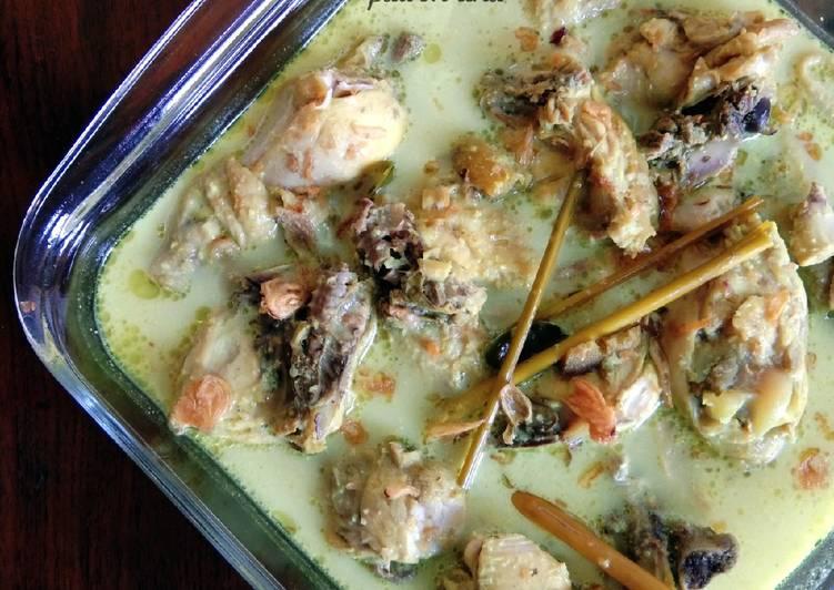 Resep Opor Ayam Kuning khas Lebaran, Lezat