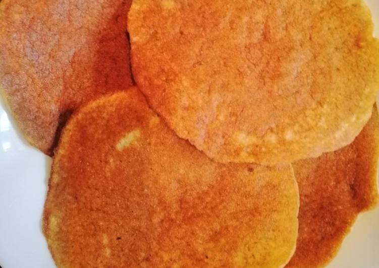 Two ingredients pancake