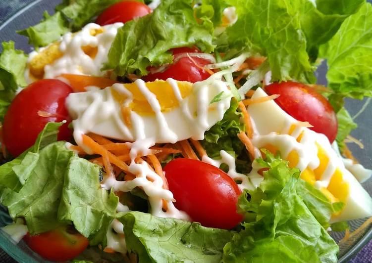 Resep Salad Sayur Simple Oleh Kartika Choi Cookpad