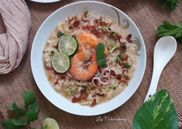 Bubur Nasi Seafood - resepipouler.com