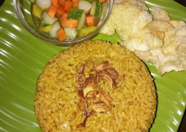 Nasi kebuli ricecooker (ayam) - cookandrecipe.com