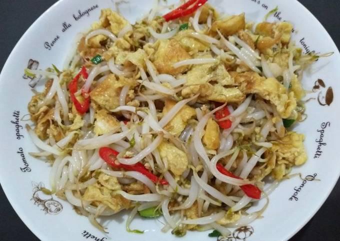 Resep Dadar Telur Cah Toge Debm Oleh Robert Hendrik Liembono Cookpad