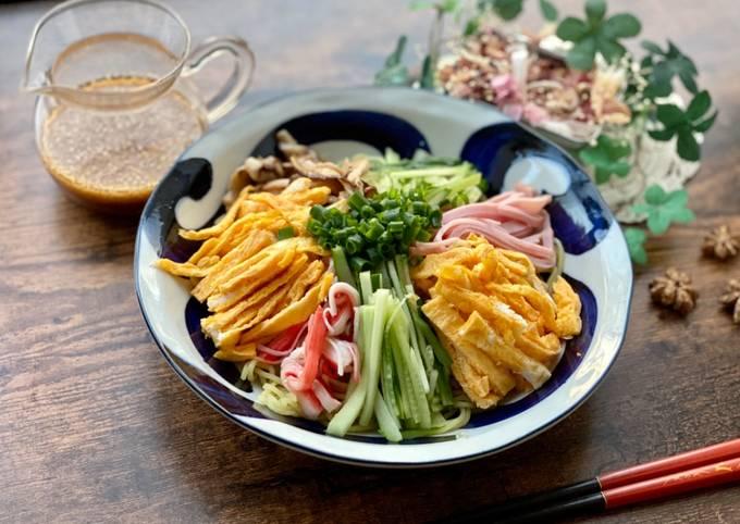 Japanese Summer Ramen with Sesame Sauce
