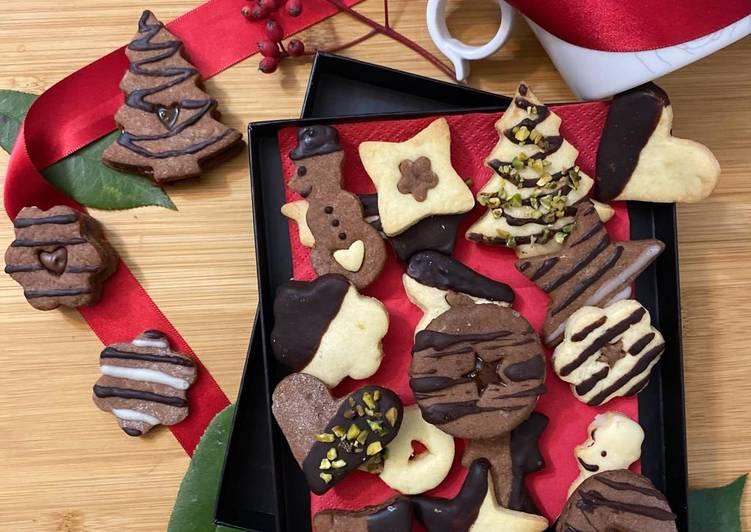 Biscotti di Natale- con solo 1 impasto