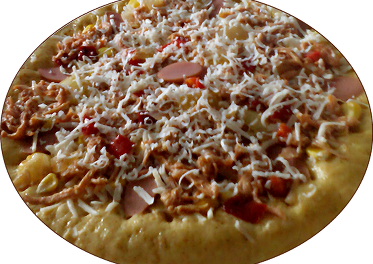 Langkah Mudah untuk Menyiapkan Pizza sederhana,tanpa oven yang Menggugah Selera
