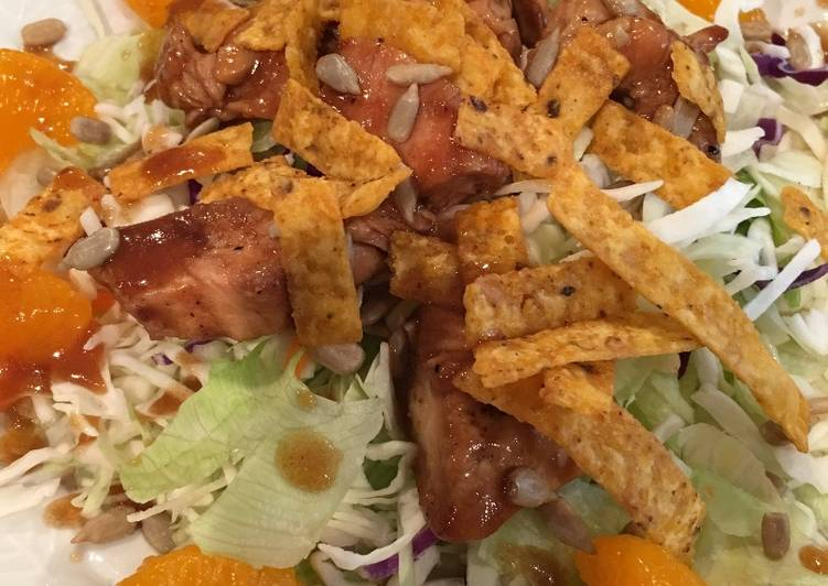 Step-by-Step Guide to Prepare Super Quick Homemade Teriyaki Chicken Asian Salad
