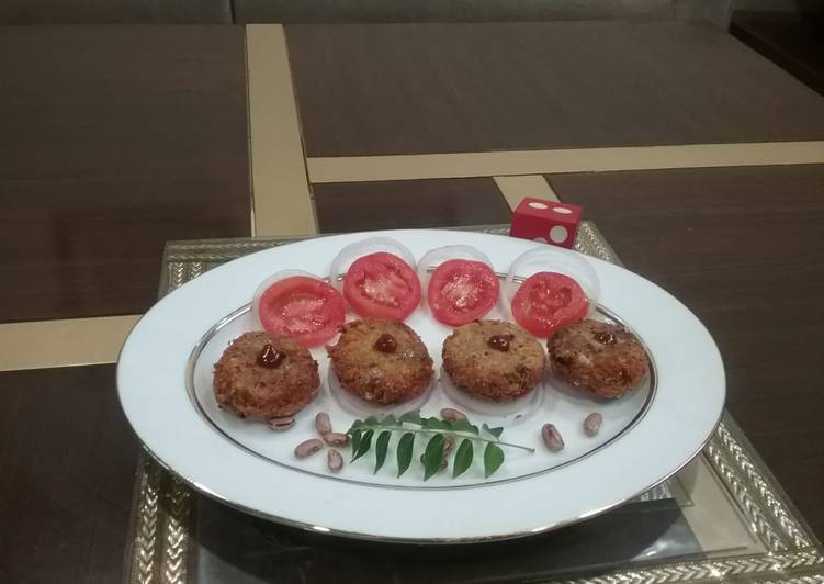 Rajma vada Finding Healthful Fast Food