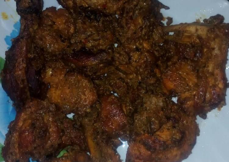 Recipe: Delicious Two way masala chicken #indiancontest