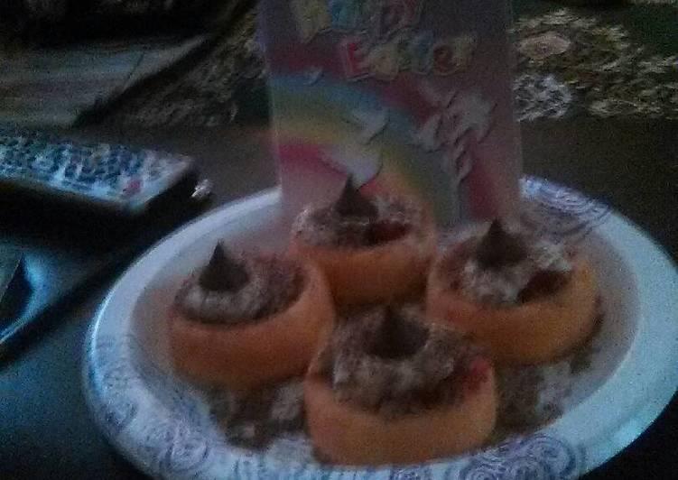 Chocolatey strawberry shortcakes