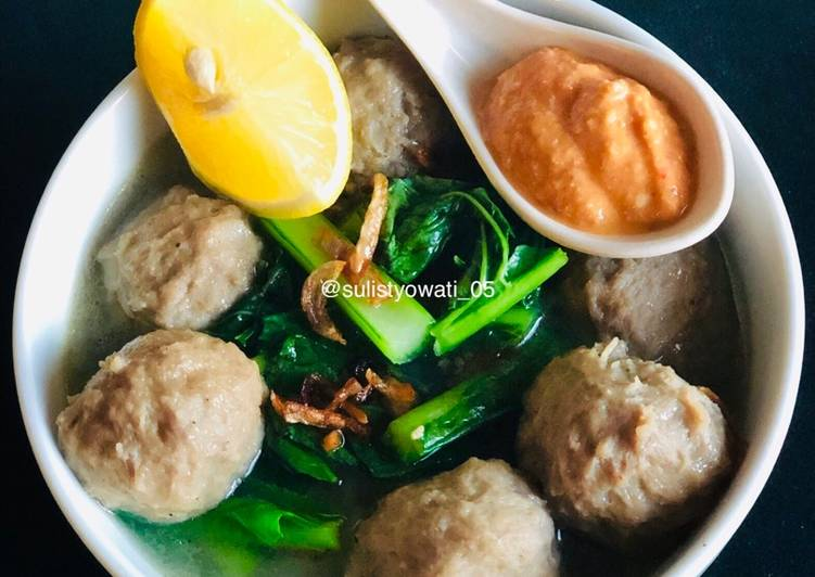 Resep Bakso Sehat