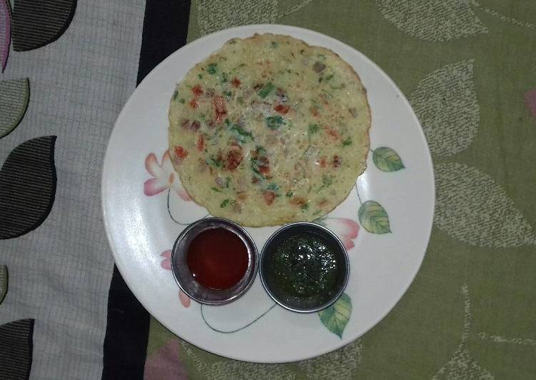 30 Minute Step-by-Step Guide to Make Summer Veg omelet (eggless)