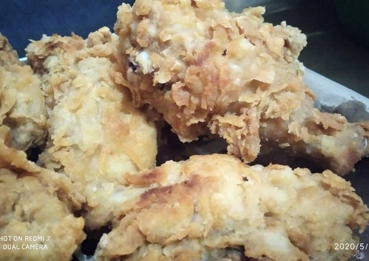 Ayam kentucky anti ribet