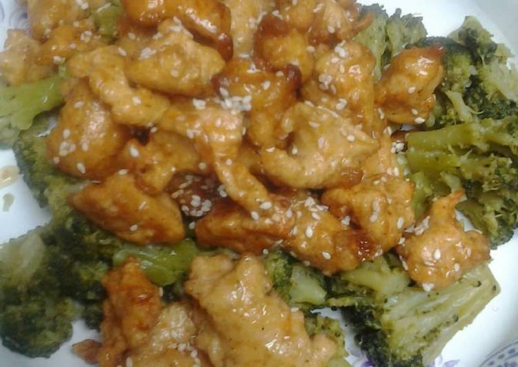 Recipe of Ultimate Honey sesame chicken