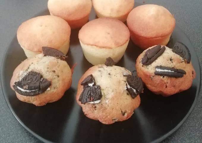Gâteau au yaourt nutella et oreo