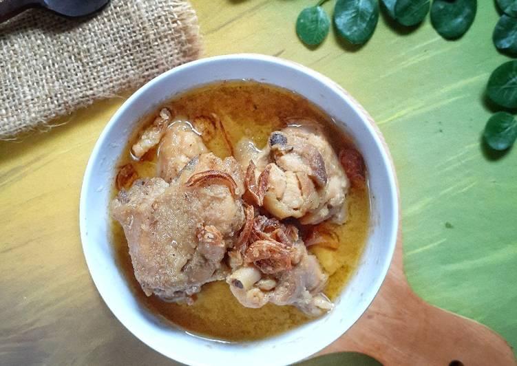 Opor Ayam ala Dapur Sukma
