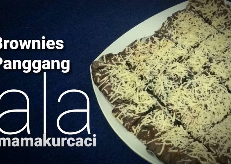 Brownies Panggang ala Mamakurcaci