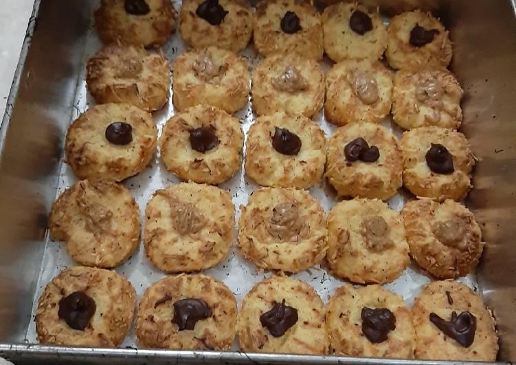 Cookies ovaltine(Tumbprint cookies)