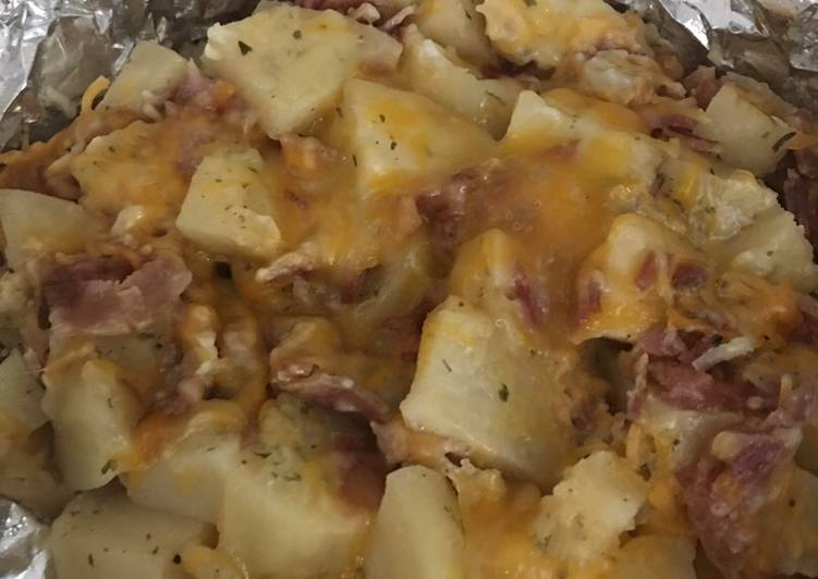 Bacon Ranch Cheesy Potatoes