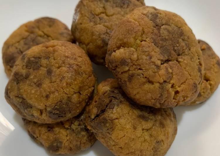 Chocochip cookies (no telur)