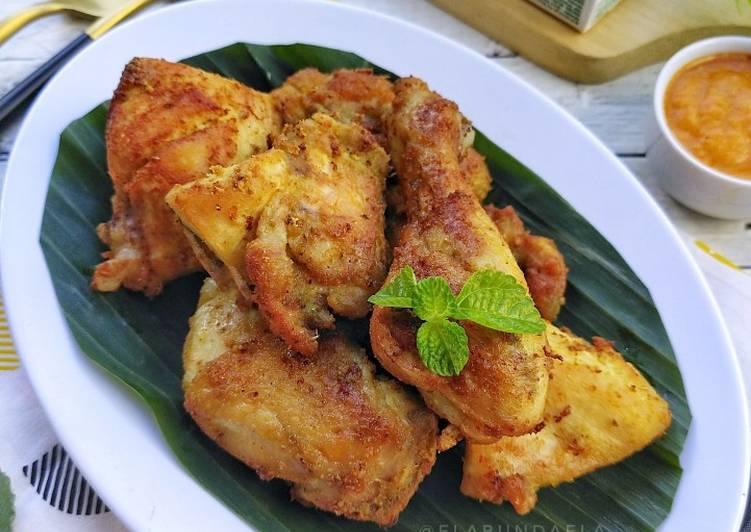 Ayam Ungkep Santan Goreng