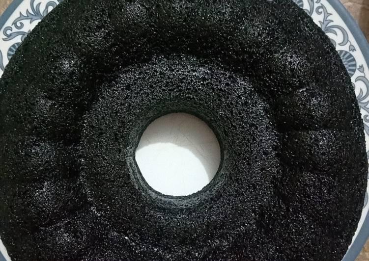 cara mengolah Bolu ketan hitam kukus - Sajian Dapur Bunda