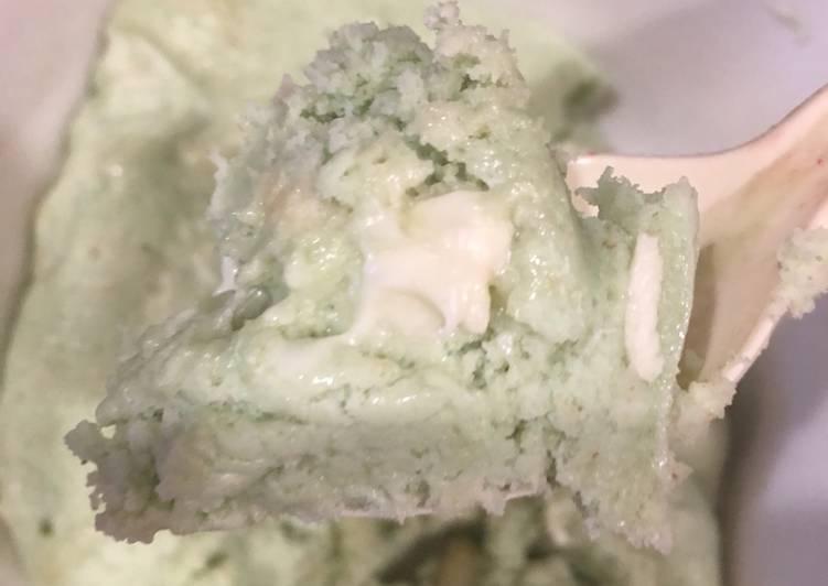 Key Lime white Chocolate Macadamia Nut mug cake
