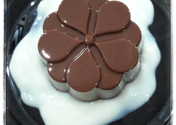 79. Puding Coklat Milo