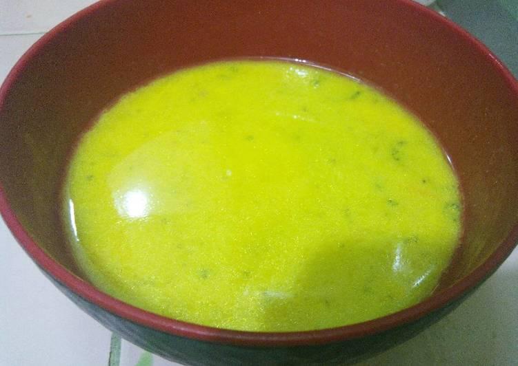 Ikan Tuna Kuah Kuning (menu batita 1y+)