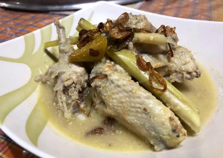 Opor Ayam sehat ala dapur dewi