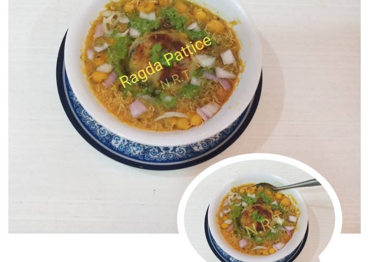 Recipe of Homemade Ragda Pattice (Patties)