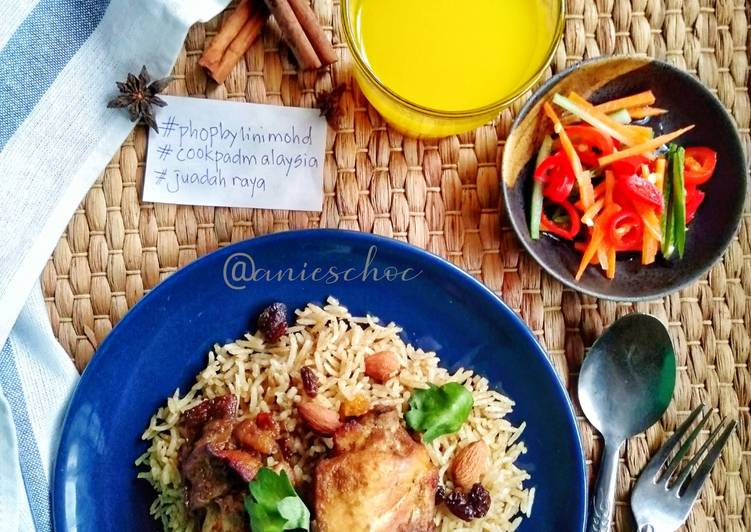 Nasi Beriani Ayam pakcik oven - velavinkabakery.com