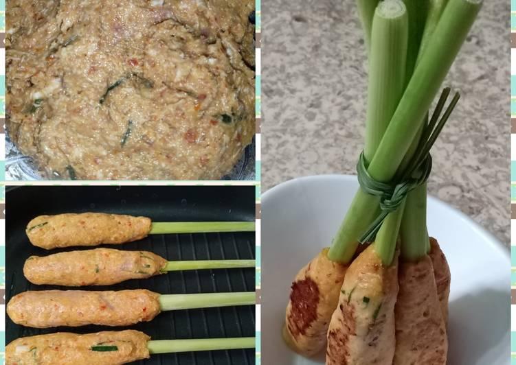 Resep Sate Lilit Ayam Khas BALI oleh Farah Adelia Puspita - Cookpad