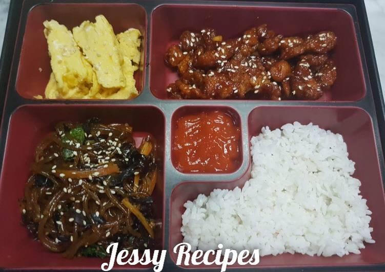Set menu korea #BikinRamadanBerkesan