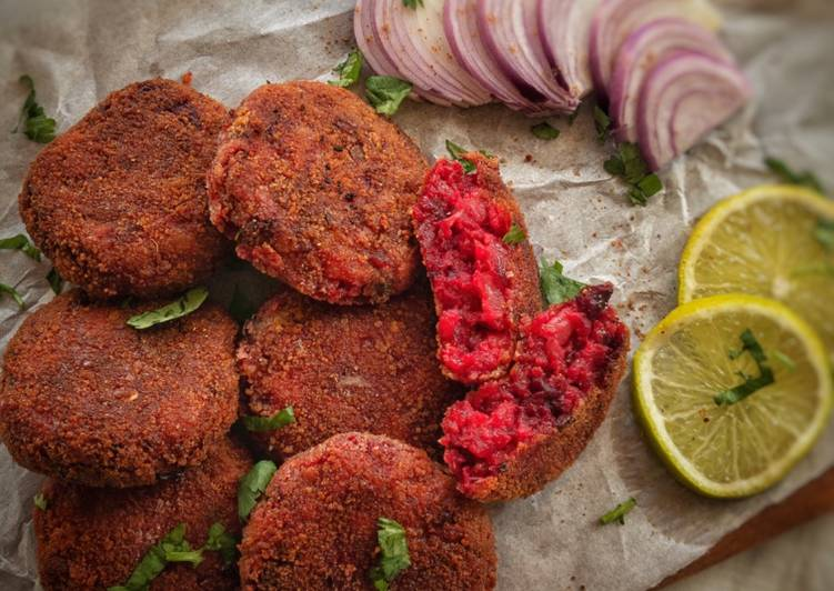 Step-by-Step Guide to Make Award-winning Beetroot Cutlet
