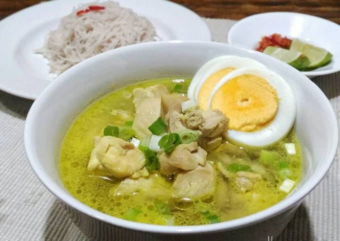Soto Ayam (postingrame2_soto)