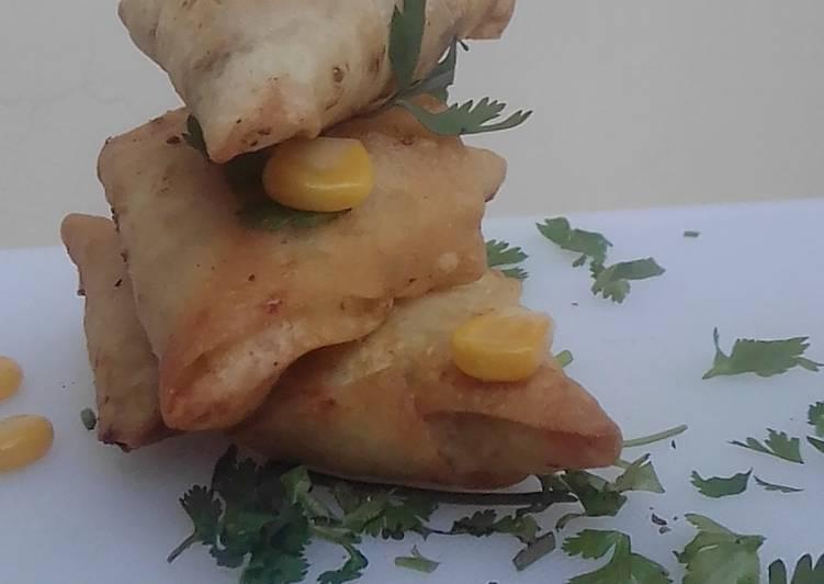 Potato Chicken Samosi - Laurie G Edwards