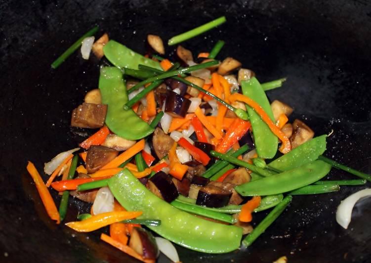 Vegetales al estilo buda
