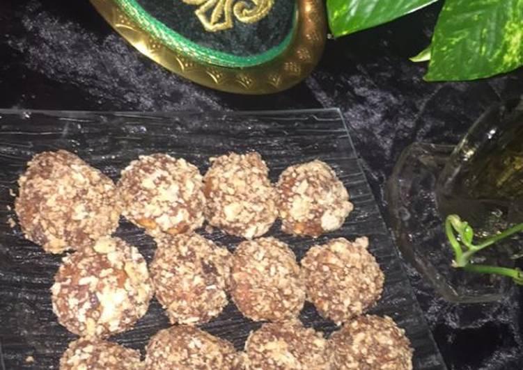Recette Appétissante Gâteau ghriba aux œufs dures