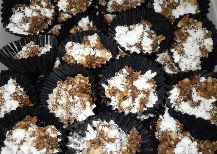 Resep Kue coklat crunchy cuma 3 bahan tanpa oven, Sempurna