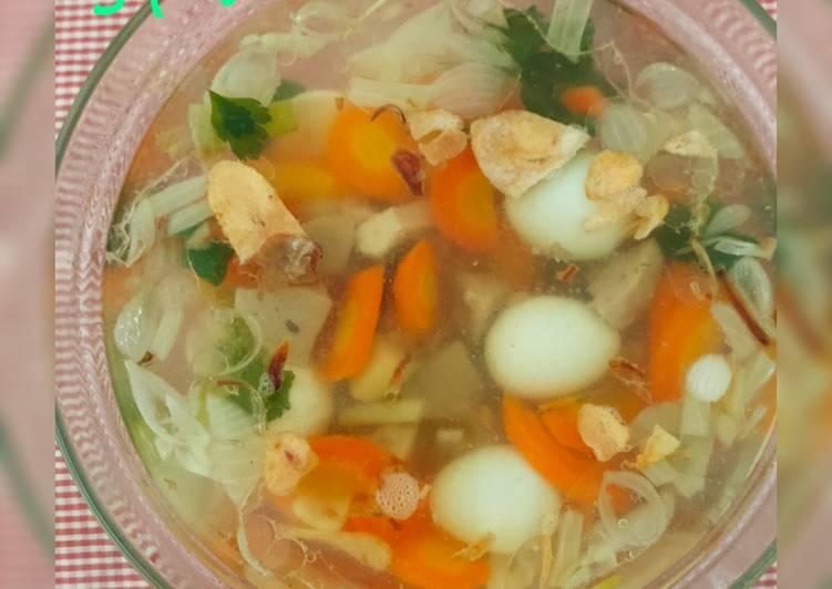 Sop Ayam Campur