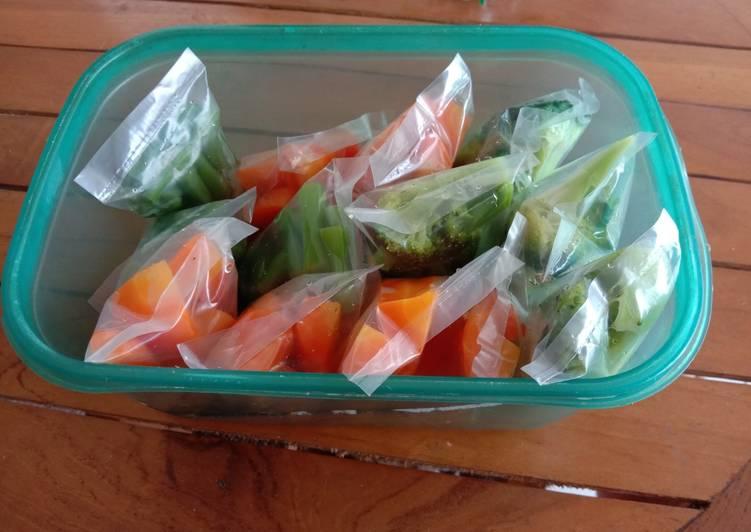 Blansir sayuran MPASI