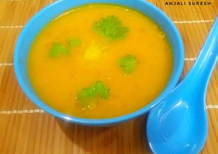 Carrot Tomato Coriander Soup