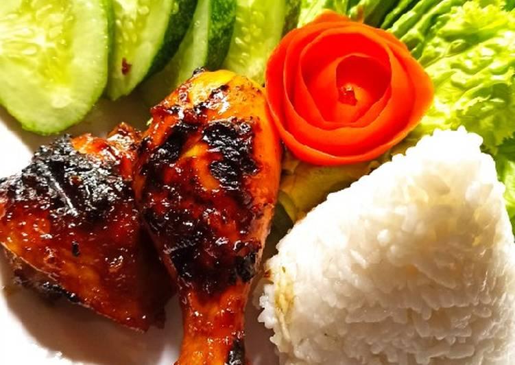 Ayam bakar wong solo ala chef supri ala indri arwin