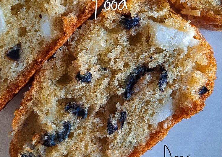 recette Cake salé olives noires et feta Le plus simple