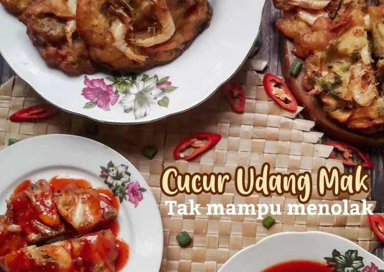 Cucur Udang Mak #phopbylinimohd #batch18 - resepipouler.com
