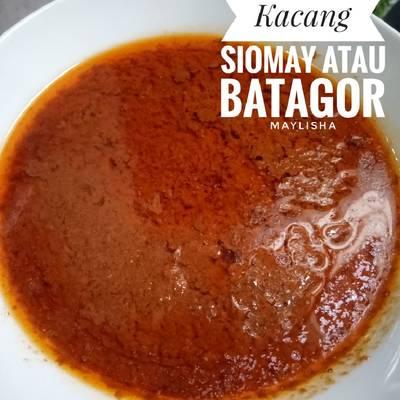 Sambal Kacang Siomay atau Batagor