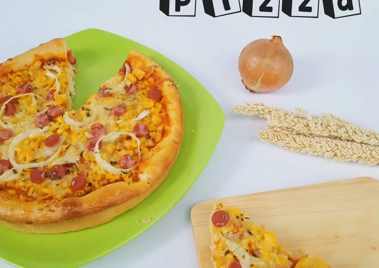 Bagaimana Membuat Pizza Empuk Anti Gagal
