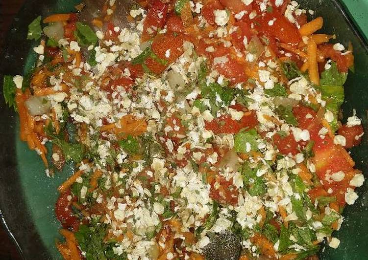 Salad Para Una Cena Light Receta De Mica Vegan Y Recetas