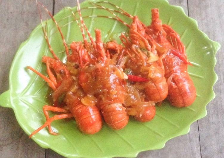 Resep Lobster Saus Mentega Oleh Yummy Popty Ping Cookpad