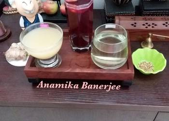 Easiest Way to Cook Appetizing 3 Different Varieties of the Detox Drinks